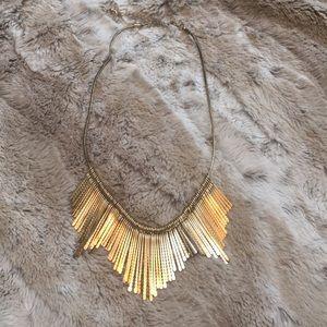 Jewelry - Gold Fan Necklace